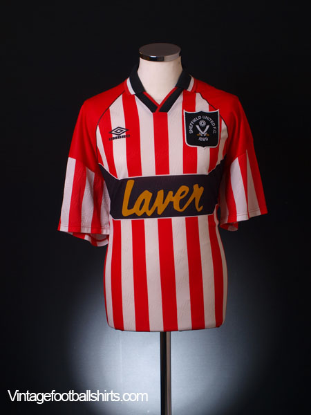 1994-95 Sheffield United Home Shirt XL