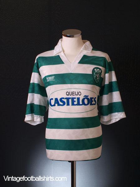 1994-95 Sporting Lisbon Home Shirt L