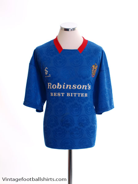 1994-95 Stockport County Home Shirt L