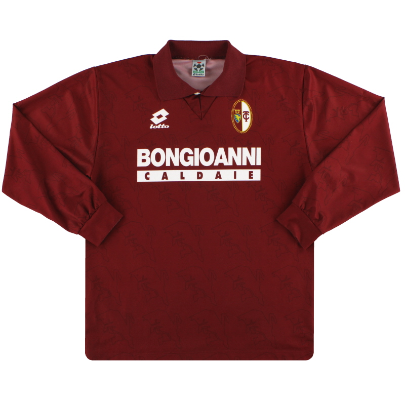 1994-95 Torino Lotto Home Shirt L/S L