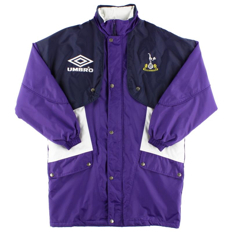 1994-95 Tottenham Umbro Bench Coat *As New* M