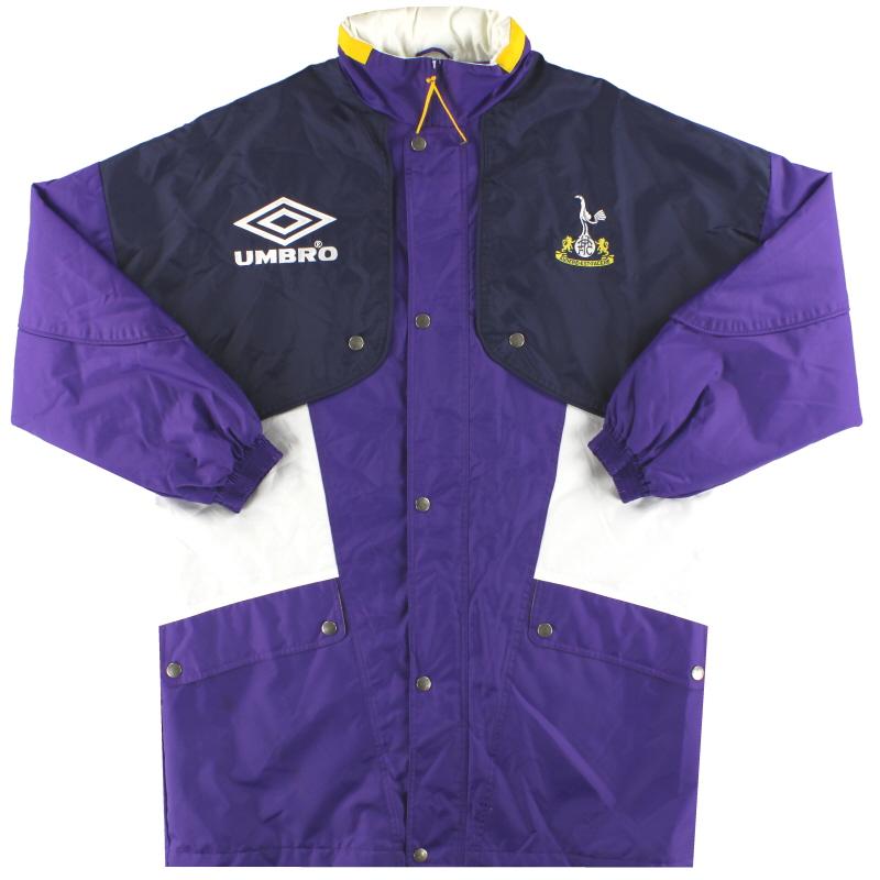 1994-95 Tottenham Umbro Bench Coat L