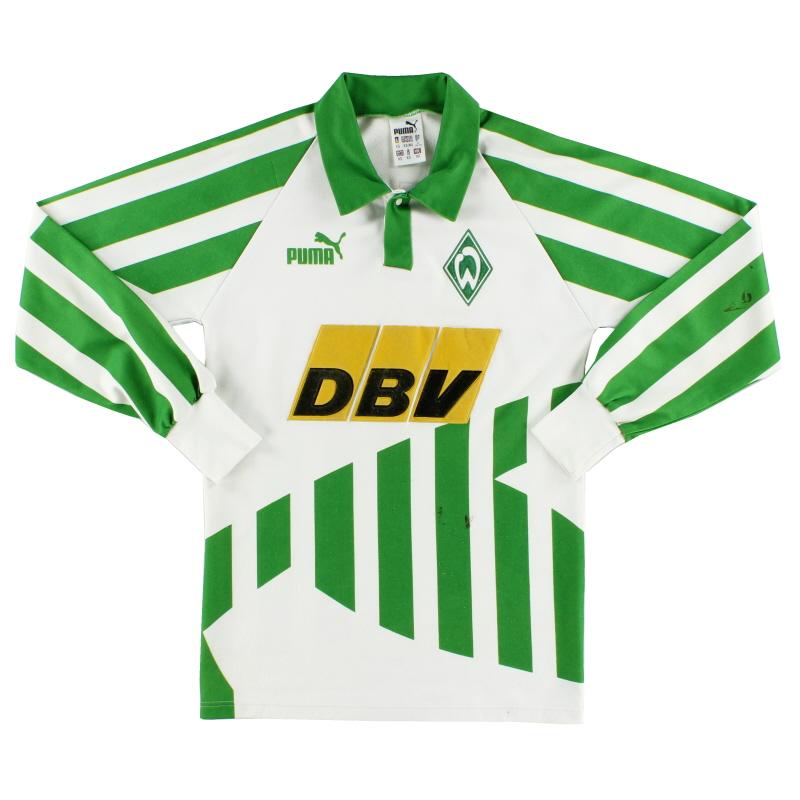 1994-95 Werder Bremen Home Shirt L/S XS