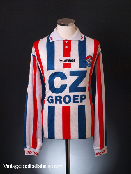 1994-95 Willem II Home Shirt L/S XXL