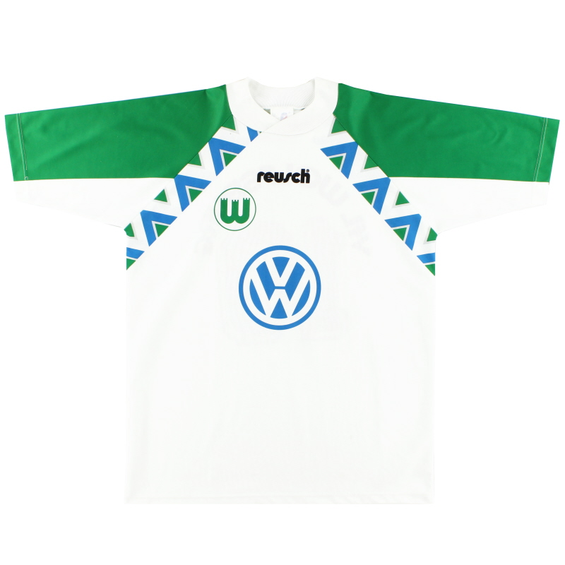 1994-95 Wolfsburg Home Shirt #10 M