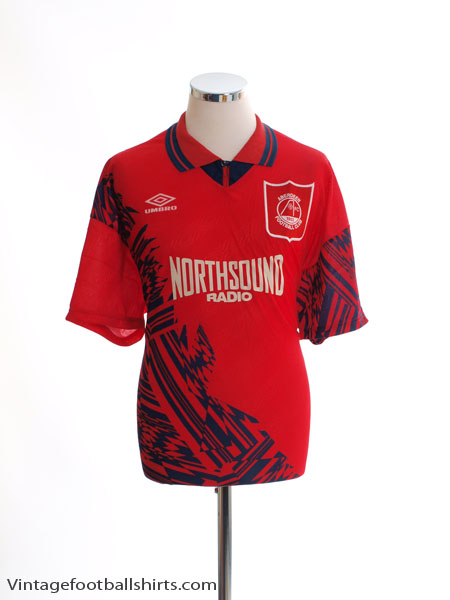 1994-96 Aberdeen Home Shirt *BNIB* XL