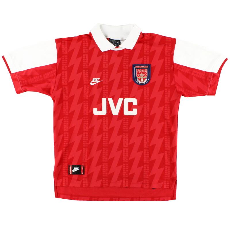 1994-96 Arsenal Nike Home Shirt L
