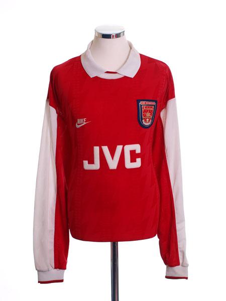 1994-96 Arsenal Home Shirt L/S XL
