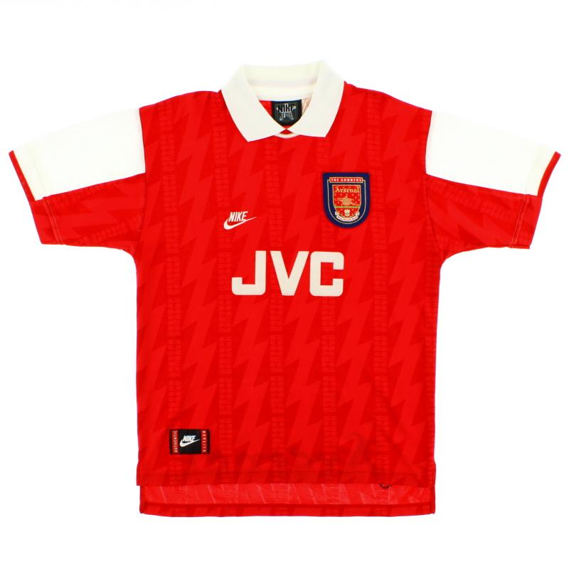 1994-96 Arsenal Home Shirt Y