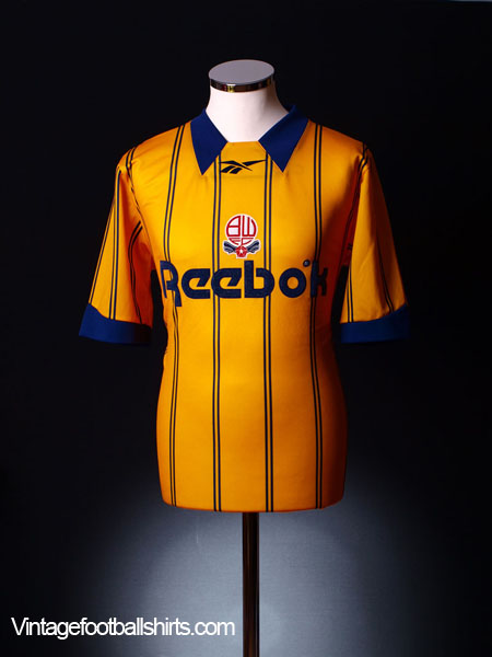 1994-96 Bolton Third Shirt S
