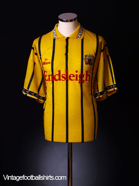 1994-96 Burnley Away Shirt *As New* M