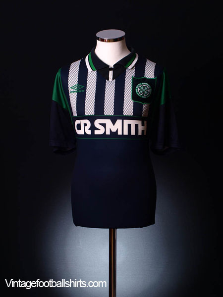 1994-96 Celtic Away Shirt L