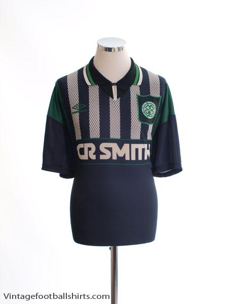 1994-96 Celtic Away Shirt L.Boys