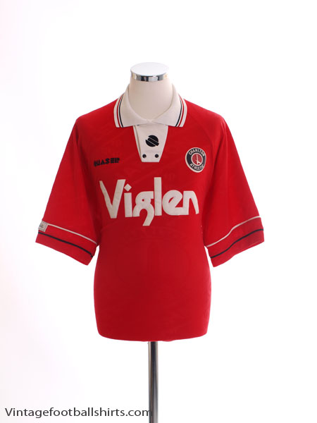 1994-96 Charlton Home Shirt L