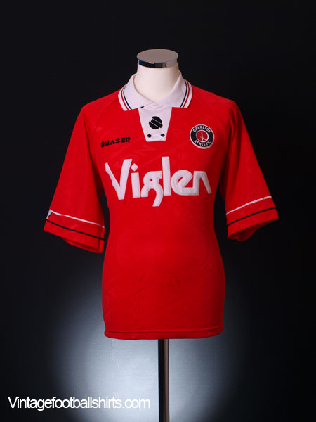 1994-96 Charlton Home Shirt M