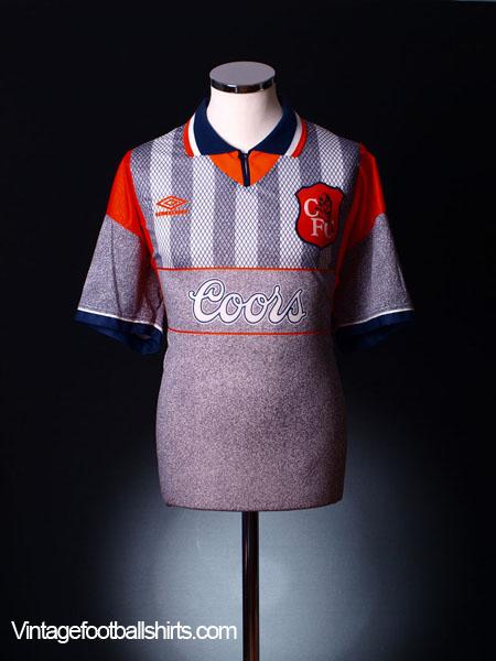 1994-96 Chelsea Away Shirt L
