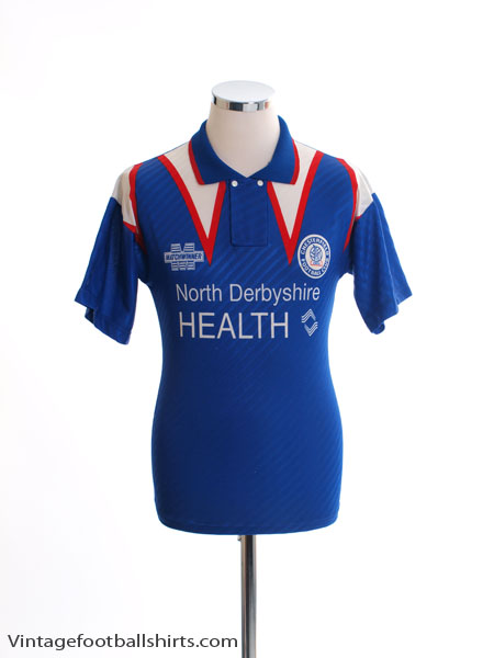 1994-96 Chesterfield Home Shirt S