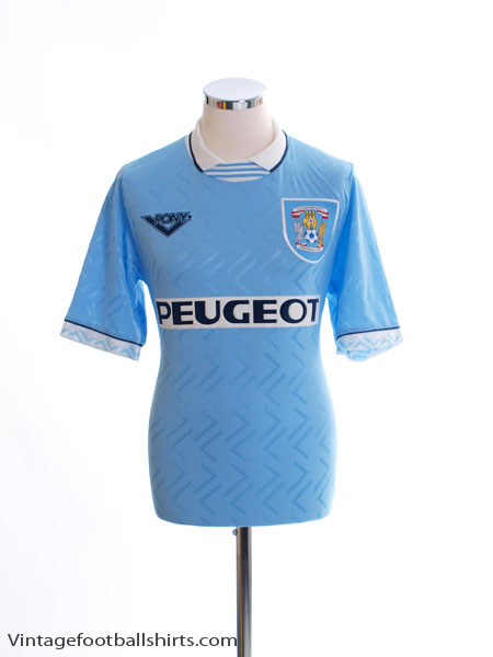 1994-96 Coventry Home Shirt S