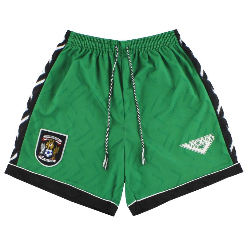 1994-96 Coventry Pony Away Shorts S
