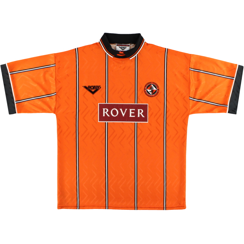 1994-96 Dundee United Pony Home Shirt *Mint* XL