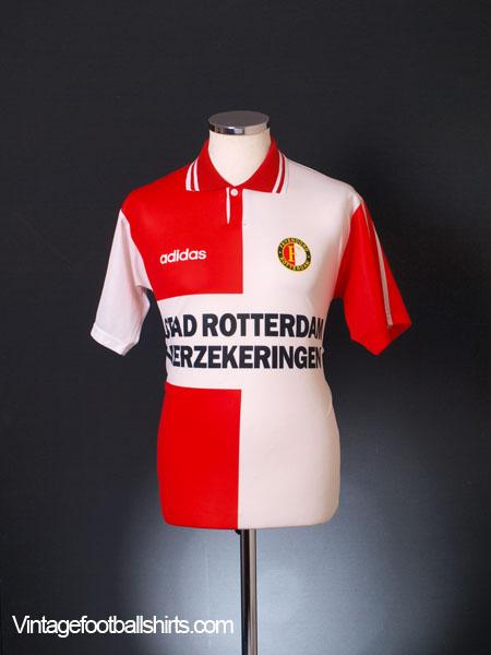 1994-96 Feyenoord Home Shirt S - 093715