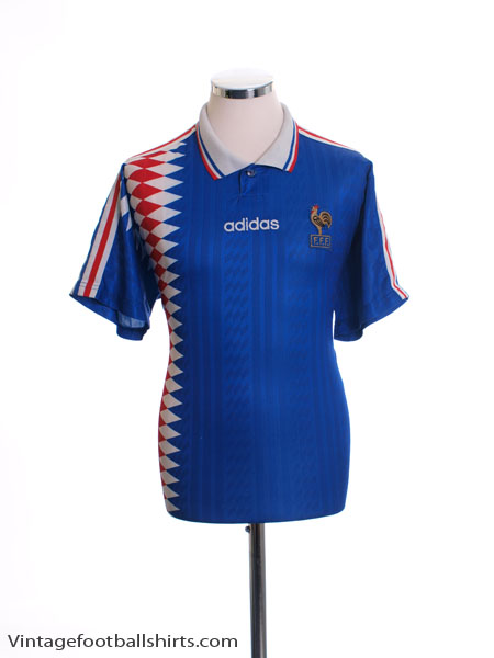 1994-96 France Home Shirt XL