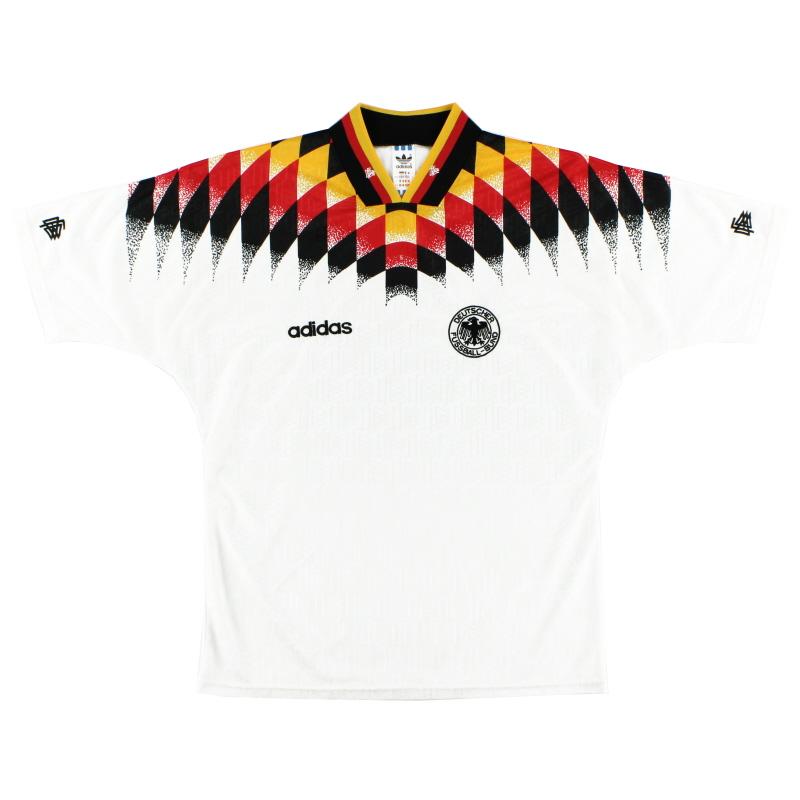 1994-96 Germany Home Shirt L - 062953