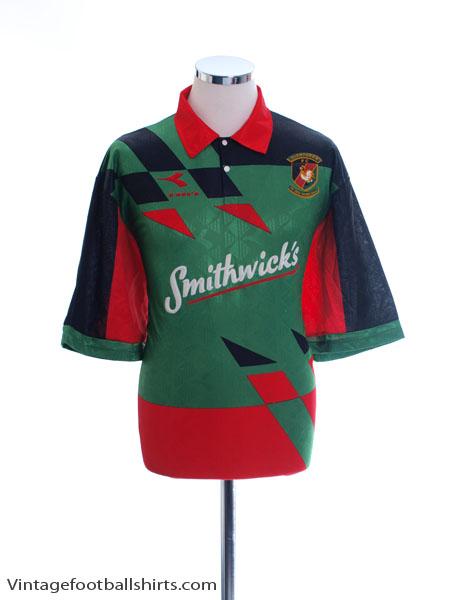 1994-96 Glentoran FC Home Shirt XL