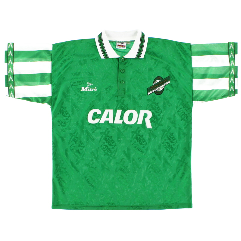 1994-96 Hibernian Home Shirt L