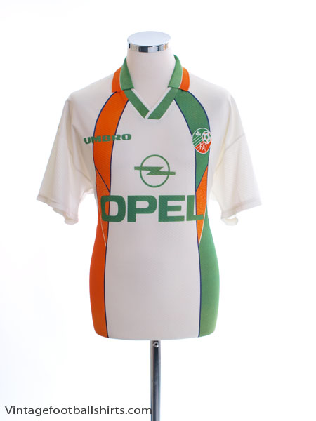 1994-96 Ireland Away Shirt M