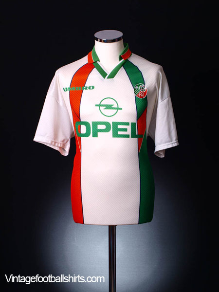 1994-96 Ireland Away Shirt L