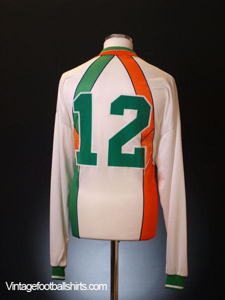 1994-96 Ireland Match Issue Away Shirt #12 L/S L