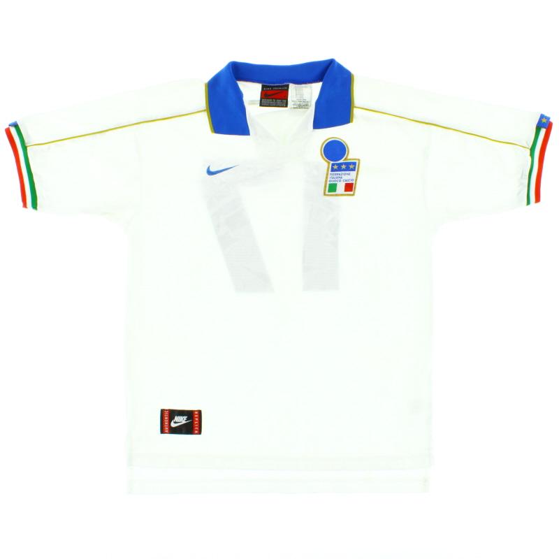 1994-96 Italy Away Shirt #17 M