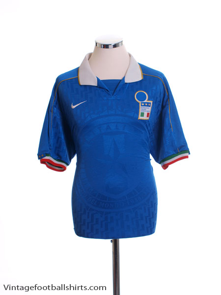 1994-96 Italy Home Shirt M