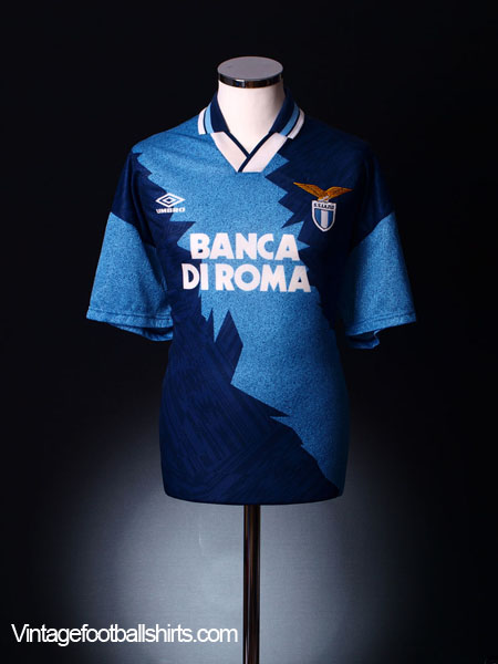 1994-96 Lazio Away Shirt *As New* L