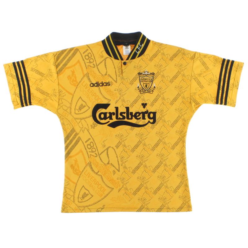 1994-96 Liverpool adidas Third Shirt *Mint* M/L