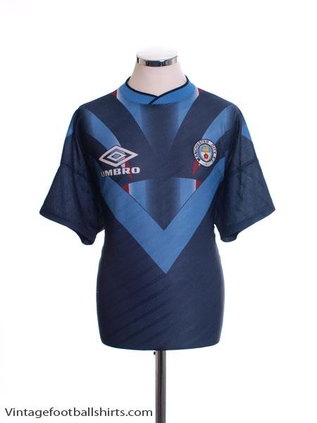 1994-96 Manchester City Training Shirt L