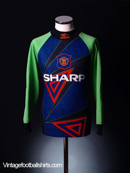 585f30d8829 1994-96 Manchester United Goalkeeper Shirt L for sale