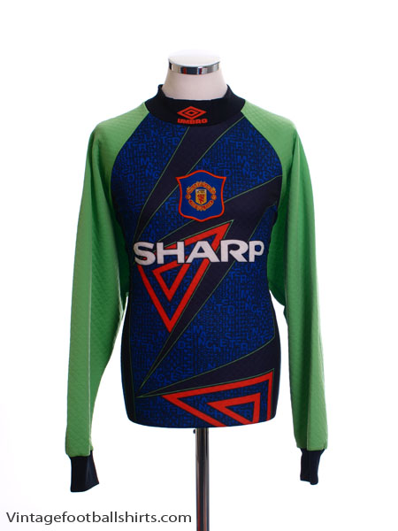 1994-96 Manchester United Goalkeeper Shirt Y