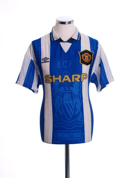 1994-96 Manchester United Third Shirt M