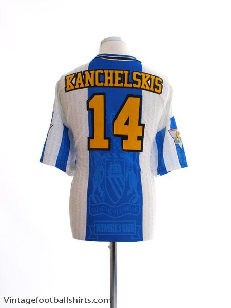 1994-96 Manchester United Third Shirt Kanchelskis #14 XL