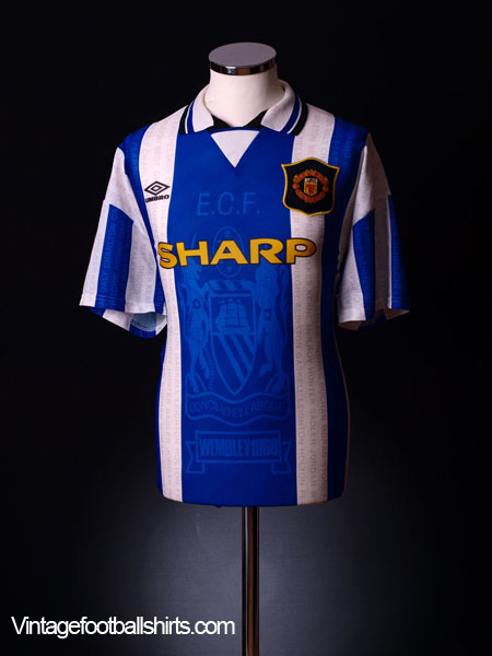 ee2c360e3 1994-96 Manchester United Third Shirt Cantona  7 XL for sale