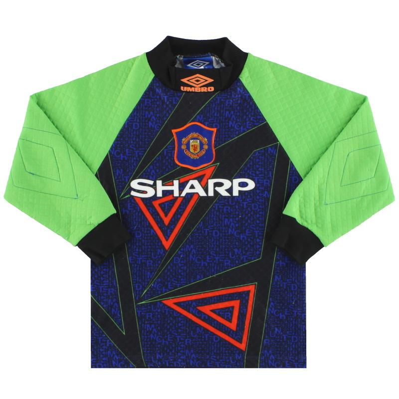 1994-96 Manchester United Umbro Goalkeeper S.Boys