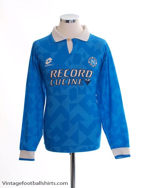 1994-96 Napoli Home Shirt L/S L