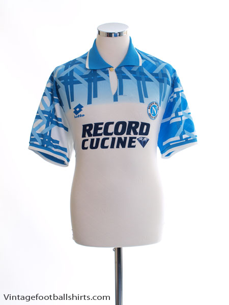1994 96 Napoli Away Shirt L For Sale