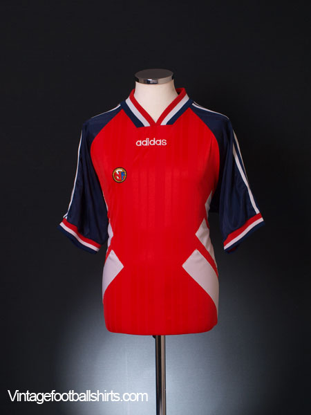 1994-96 Norway Home Shirt L
