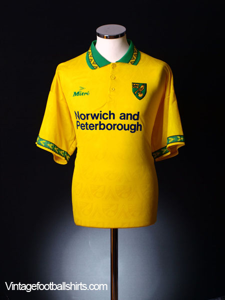 1994-96 Norwich City Home Shirt XL