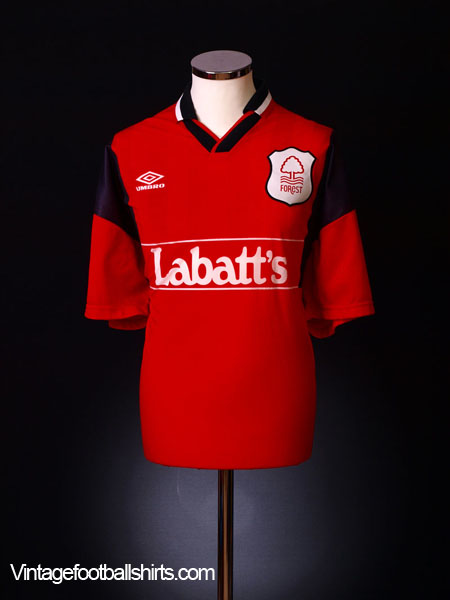 1994-96 Nottingham Forest Home Shirt *BNIB* L