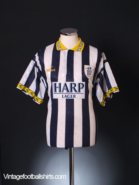 1994-96 Notts County Home Shirt L