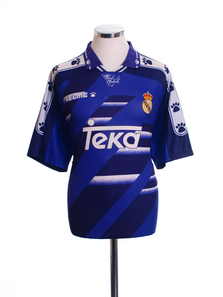 1994-96 Real Madrid Away Shirt S